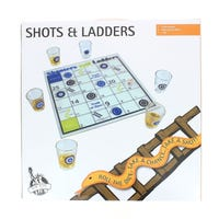 Shots And Ladders Board Game
