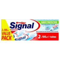 Signal Family Protection Toothpaste 100ml 2 Pack