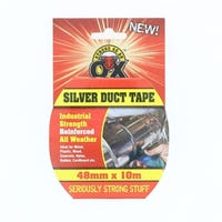 Silver Duct Tape 48mm x 10m