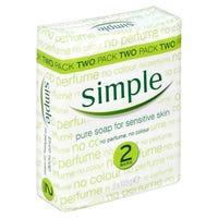 Simple Pure Sensitive Soap 2 Pack