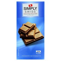 Simply Swiss Extra Fine Milk Chocolate 100g