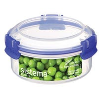 Sistema Round Klip It Blue 300ml