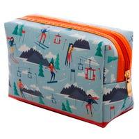 Toiletry Bag in Ski Resort Design