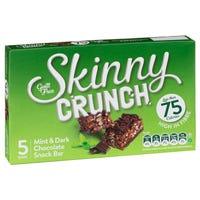 Skinny Crunch Mint and Dark Chocolate Snack Bar 5 Pack