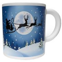 Christmas Mug Santa Sleigh