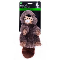 Smart Choice Squeaky Beaver Dog Toy