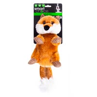Smart Choice Squeaky Fox Dog Toy
