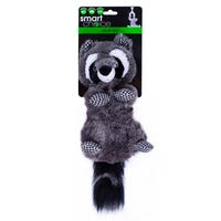 Smart Choice Squeaky Raccoon Dog Toy