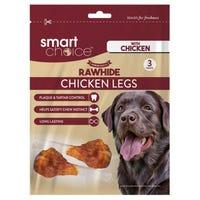 Smart Choice Rawhide Chicken Leg 3 Pack