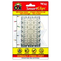 Small Cable Clips with Adhesive Strips