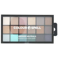 Colour Spell Smoked 18 Shade Eye Shadow Palette