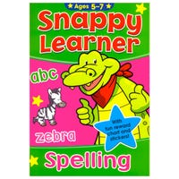 Snappy Learner Spelling Book Age 5-7