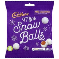 Cadbury Dairy Milk Snow Balls Bag 80g