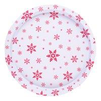 Christmas Tray Snowflake 32cm