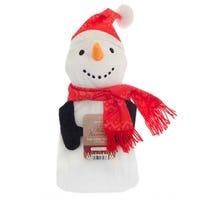 Winter Warmers Hot Water Bottle Snowman