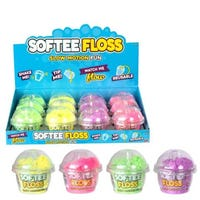 Softee Floss Mini Pots Assorted