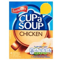 Batchelors Cup A Soup Chicken 81g  4 Pack