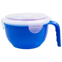 Microwaveable Food Bowl in Blue