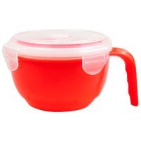 Microwaveable Food Bowl in Red
