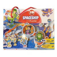3D Spaceship Puzzle
