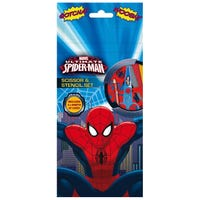 Ultimate Spider-Man Scissor and Stencil Set