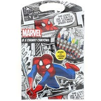 Spiderman Chunky Crayons Set