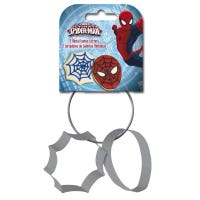 Spiderman Cookie Cutters 2 Pack