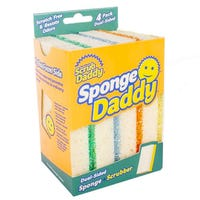 Scrub Daddy Sponge Daddy 4 Pack