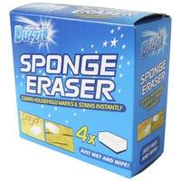 Duzzit Sponge Erasers 4 Pack