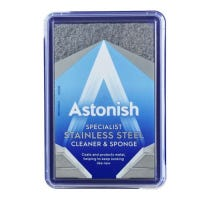 Astonish Paste Stainless Steel Cleaner and Sponge 250g
