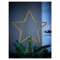 Star Tree Topper in Gold