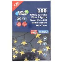 100 LED Starlight Warm White