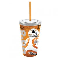 Star Wars BB8 Tumbler with Straw