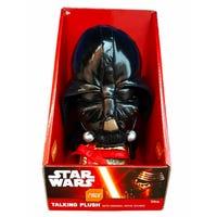 Star Wars Plush Talking Darth Vader with Present