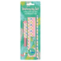 Stationery Set Tropical