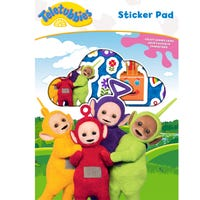 Teletubbies Sticker Pad