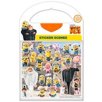 Despicable Me 3 Stickers Scenes
