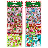 Christmas Sticker Pack Assorted 120 Pack
