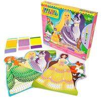 Sticky Mosaics Princesses Craft Kit