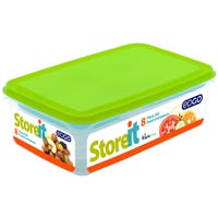 EDGO Food Container Lime 8 Piece