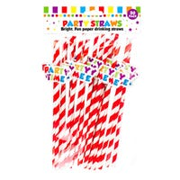Paper Straws Party 20 Pack