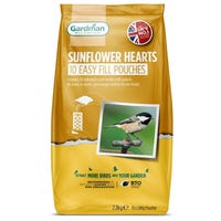 Gardman Sunflower Hearts Bird Feed 2.4kg