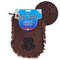 Microfibre Noodle Pet Mit in Brown
