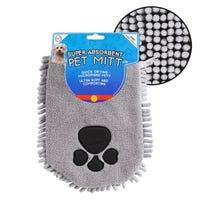 Microfibre Noodle Pet Mit in Grey