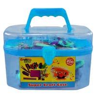 Super Craft Art Carry Case in Blue