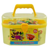 Super Craft Art Carry Case in Yellow