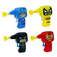 Superhero Bubble Gun and Bubbles Assorted