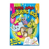 Super Jumbo Colouring Book Assorted