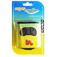 Super Traveller Eye Mask and Ear Plugs