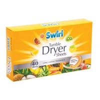 Swirl Laundry Sheets Tropical 40 Pack